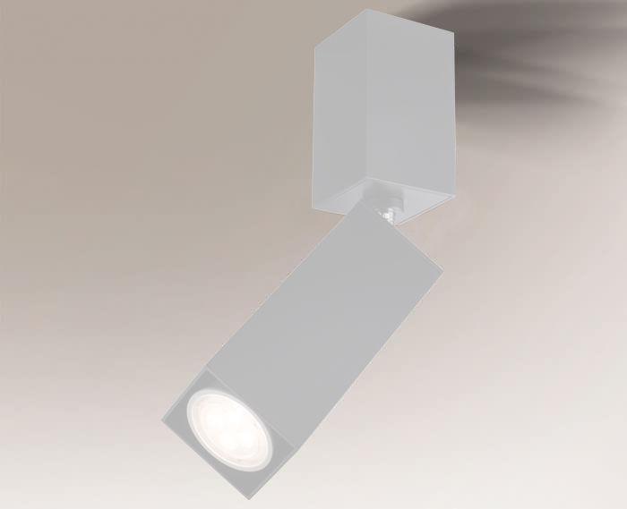 Reflektor SHIMA 7207 Shilo biały