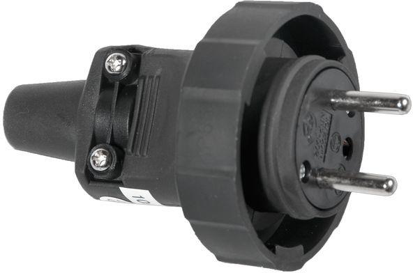 Wtyczka gumowa z/u 16A 250V IP65 D.3148