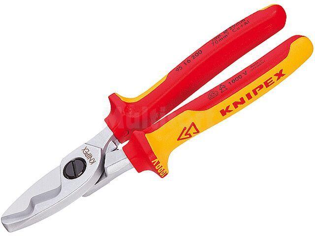 Nożyce KNIPEX do kabli miedzianych i aluminiowych max fi20mm