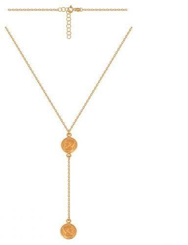 Złoty naszyjnik łańcuszkowy 50590