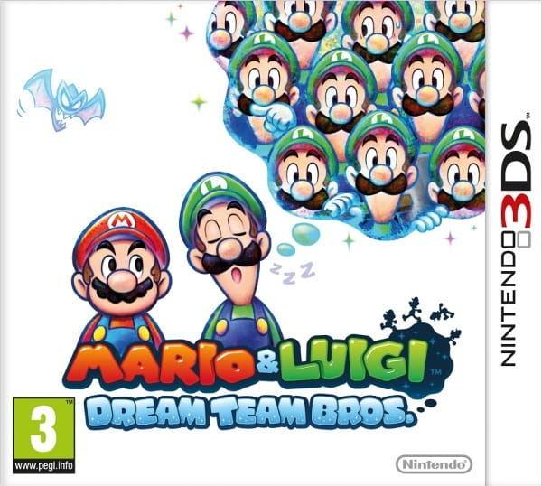Gra Mario & Luigi: Dream Team Bros. (3DS)