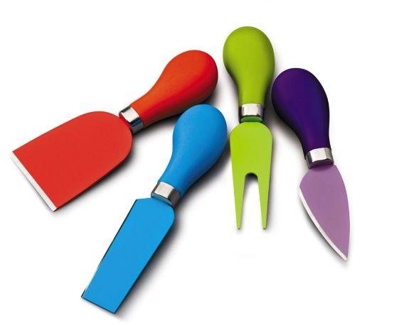 Komplet 4 noży do serów