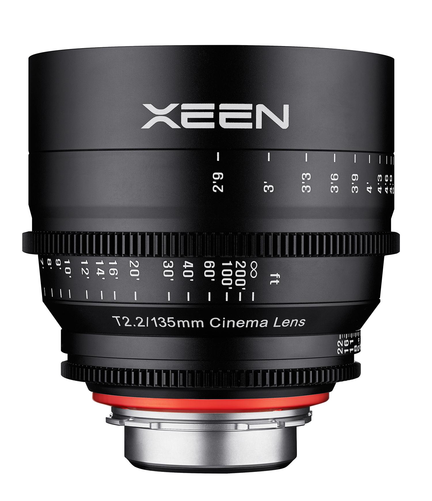 Samyang Rokinon Xeen 135mm T2.2 - obiektyw do Canon EF Samyang obiektyw kinematograficzny