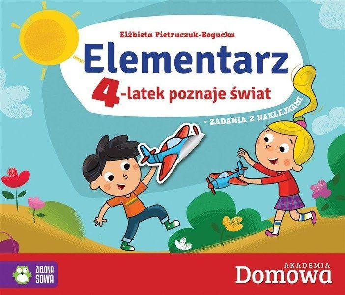 Elementarz. 4-latek poznaje świat - Elżbieta Pietruczuk-Bogucka