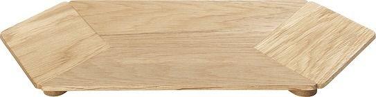 Patera hexa duża drewniana