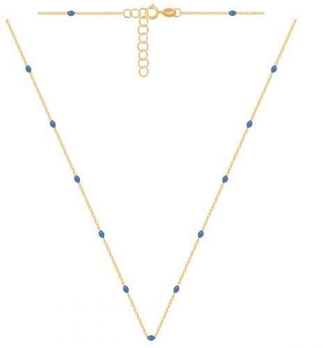 Złoty naszyjnik łańcuszkowy 51435
