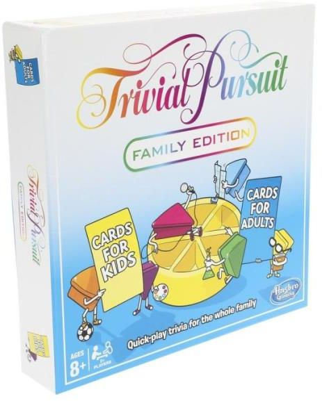 Trivial Pursuit Edycja Rodzinna ZAKŁADKA DO KSIĄŻEK GRATIS DO KAŻDEGO ZAMÓWIENIA