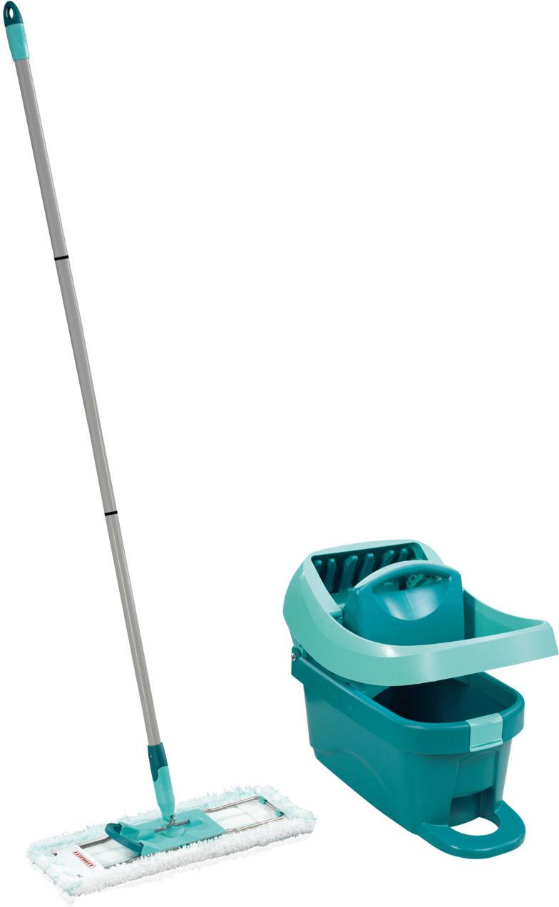 LEIFHEIT Zestaw podłogowy mop PROFI + wiaderko na kółeczkach PROFI z pedałem do wyżymania LEIFHEIT 55096