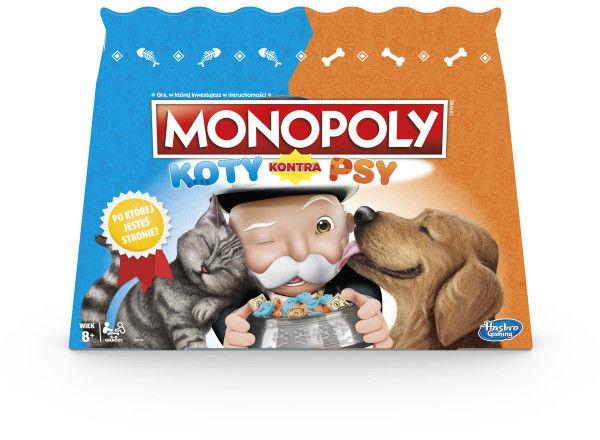 Monopoly Koty kontra psy E5793 ZAKŁADKA DO KSIĄŻEK GRATIS DO KAŻDEGO ZAMÓWIENIA
