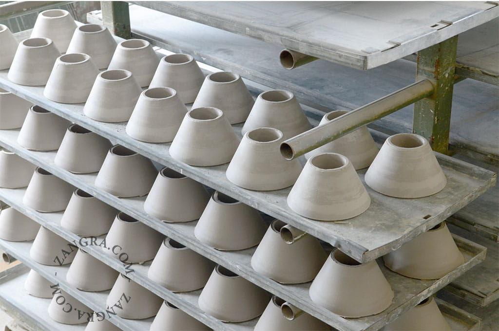 Porcelanowa Lampa Biała ZANGRA V 001.005