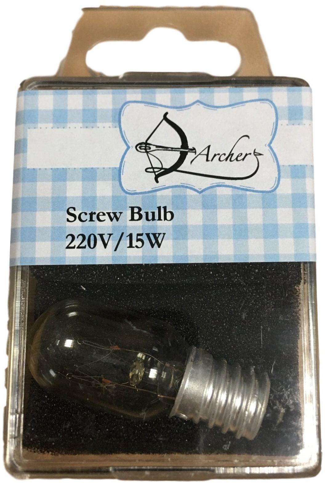 ARCHER żarówka śrubowa 220 V / 15 W, 10 x 6 x 2 cm