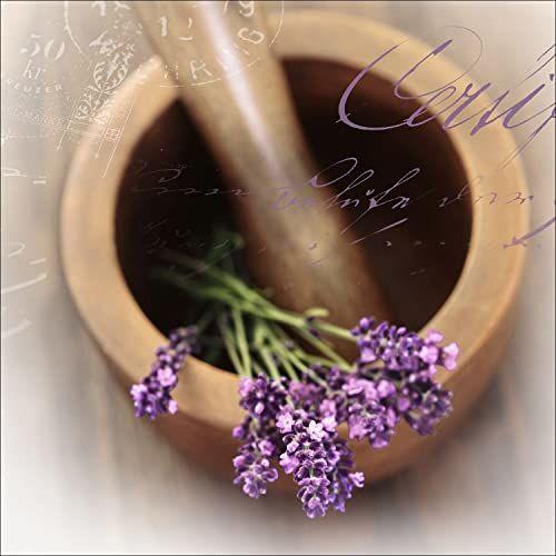 """Pro-Art gla728b obraz ścienny szkło sztuka """"Lovely lavender I"""", 50 x 50 cm"""