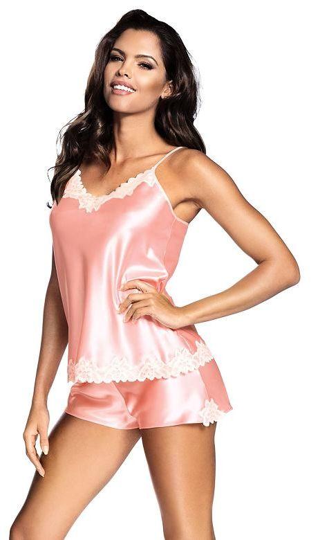 Satynowa piżama Loris