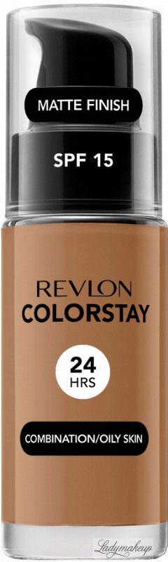 REVLON - COLORSTAY  FOUNDATION - Podkład do cery tłustej i mieszanej - 30 ml - 400 - CARAMEL