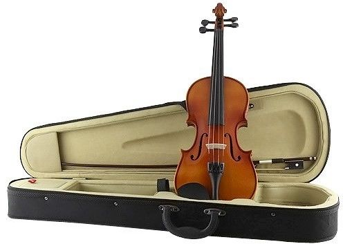 Dimavery Violin 3/4 with bow in case, skrzypce
