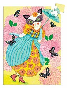 DJECO - Mini Puzzle Miss Tigri, wielokolorowe (DJ07677)