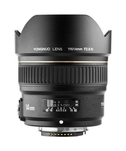 Obiektyw Yongnuo YN 14 mm f/2,8 do Nikon F