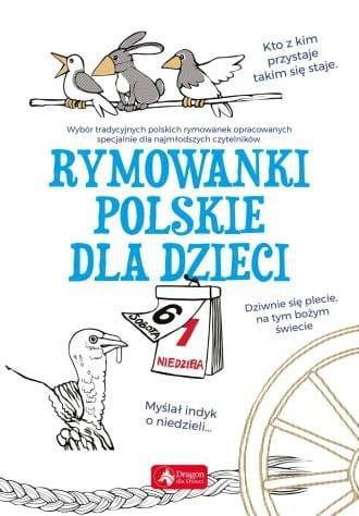 Rymowanki polskie dla dzieci (białe)