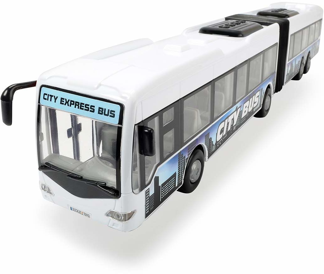 Dickie Toys 203748001 City Express autobus Bendy 46 cm