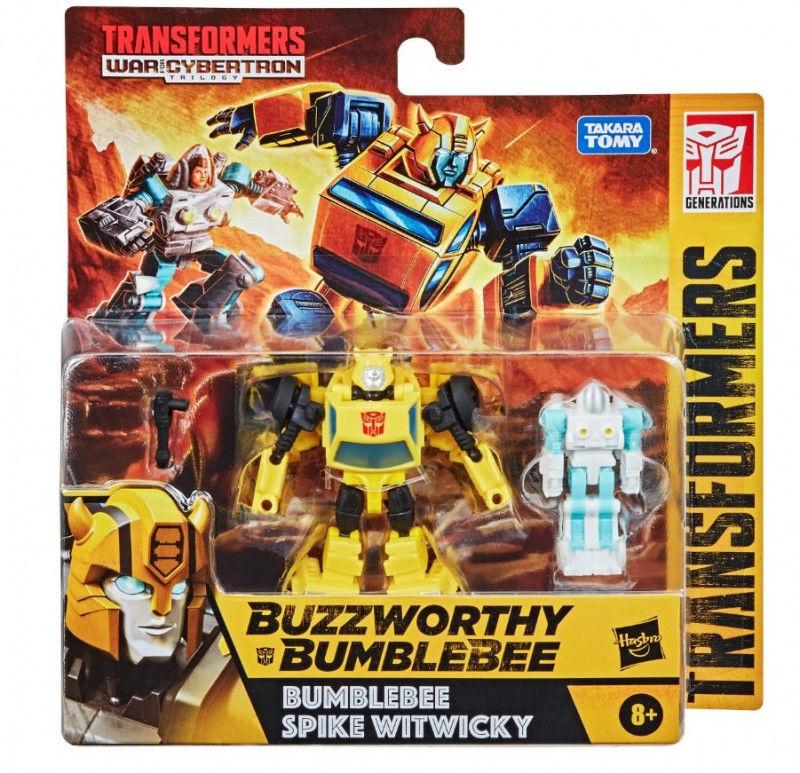 Figurka Transformers Buzzworthy Bumblebee GEN WFC Core Scale 2PK