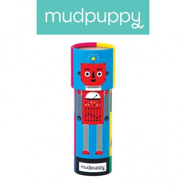 Mudpuppy Kalejdoskop Mix&match Roboty 3+