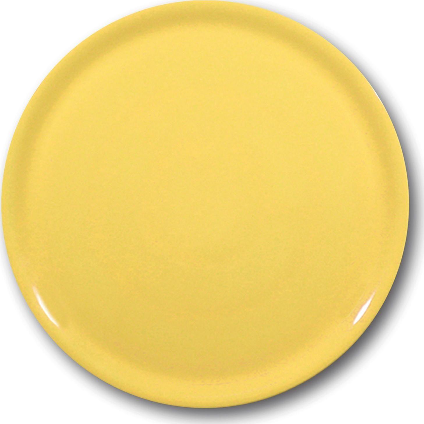 Talerz do pizzy Speciale żółty