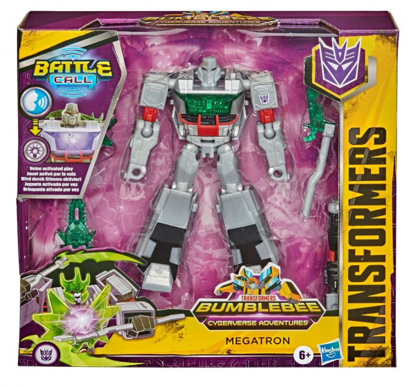 Figurka Transformers Cyberverse Battle Call Trooper Megatron