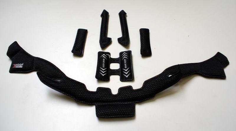 BELL wkładki wewnętrzne do kasków SUPER DH MIPS black BEL-7095918 Rozmiar: 52-56,BEL-7095918