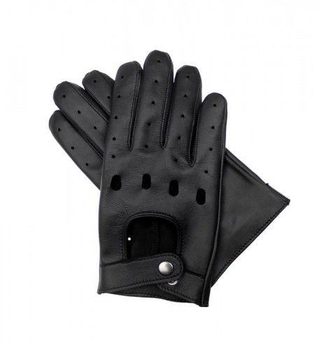 Męskie rękawiczki skórzane samochodowe z funkcją obsługi ekranów dotykowych, rękawiczki dotykowe