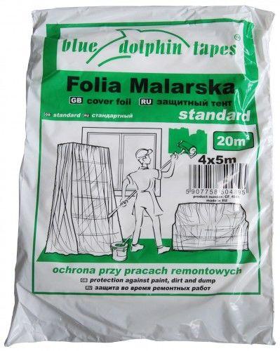 BLUE DOLPHIN FOLIA MALARSKA STANDARD 4MX5M