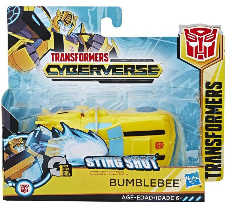 Hasbro Figurka Transformers Cyberverse 1-Step Changer Bumblebee