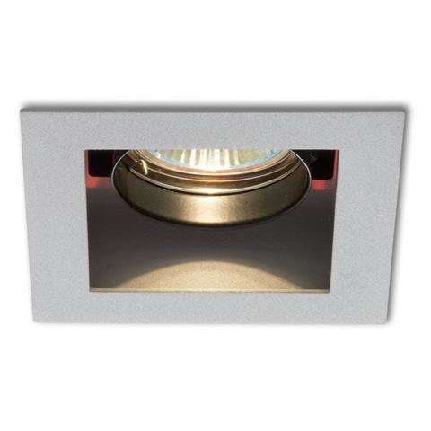 Lampa do zabudowania K/G MONE I kierunkowa srebrna 12V GU5,3 50W R10216 - RedLux - Autoryzowany dystrybutor REDLUX