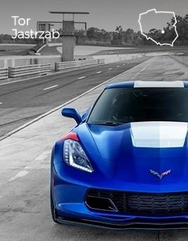 Jazda za kierownicą Chevroleta Corvette  Tor Jastrząb