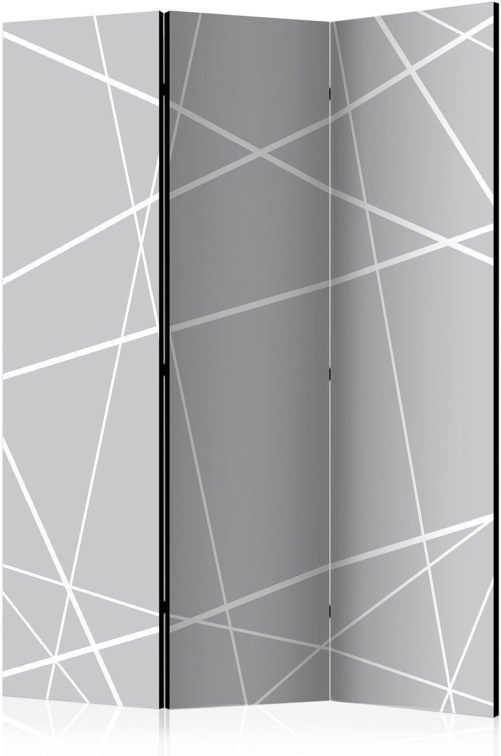 Parawan 3-częściowy - nowoczesna pajęczyna [room dividers]