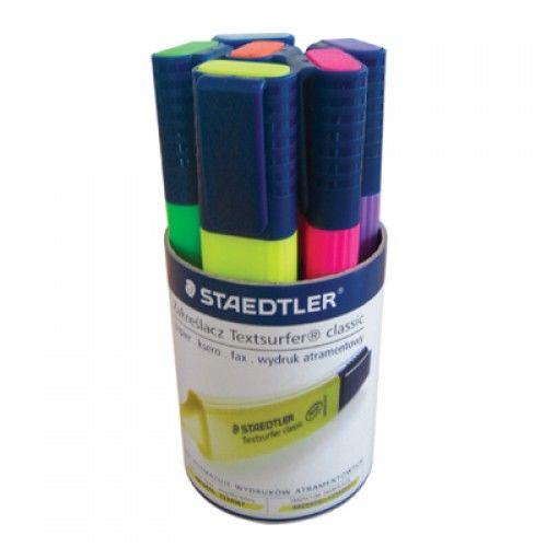 Zakreślacz STAEDTLER Textsurfer Classic 6 kolorów 364 WP6