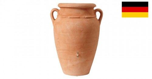 Stylowy zbiornik na deszczówkę poj. 360 L Antique amphora terracotta