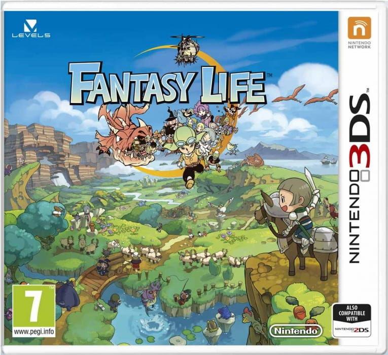 Gra Fantasy Life (3DS)