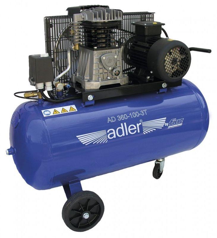 Kompresor tłokowy Adler AD 360-150-3T