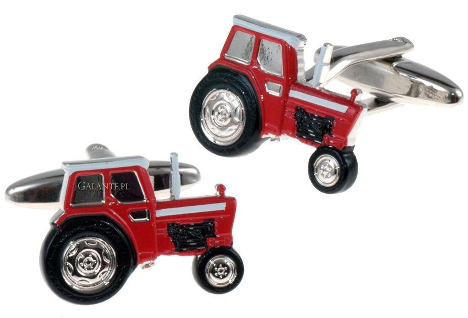 Spinki do mankietów Czerwony Traktor SD-1366
