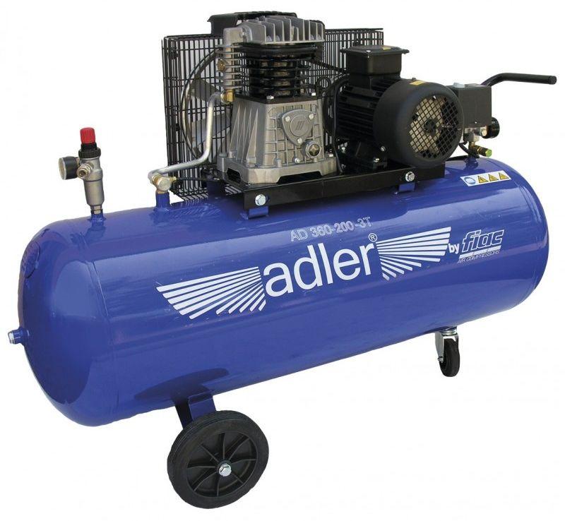 Kompresor tłokowy Adler AD 360-200-3T