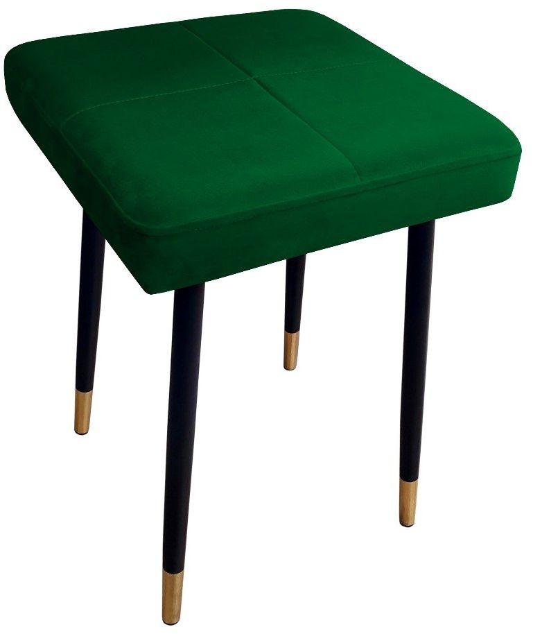 Taboret SQUARE 2 MG VELVET zielony  Kupuj w Sprawdzonych sklepach