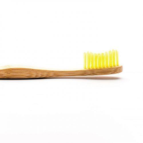 Humble Brush, Bambusowa szczoteczka dla dorosłych Medium żółta