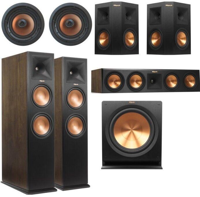 KLIPSCH RP-280 IC 5.1.4 Dolby Atmos System Kina Domowego ORZECH - MOŻLIWOŚĆ NEGOCJACJI - Odbiór Salon Warszawa lub Kurier 24H. Zadzwoń i Zamów: 504-586-559 !