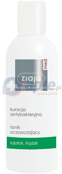 Ziaja Med antybakteryjna Tonik oczyszczający 200 ml