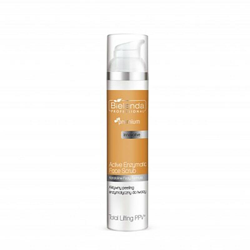 BIELENDA TOTAL Lifting PPV Aktywny peeling enzymatyczny do twarzy 100g