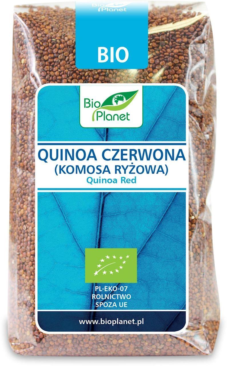 Quinoa czerwona komosa ryżowa bio 500 g - bio planet