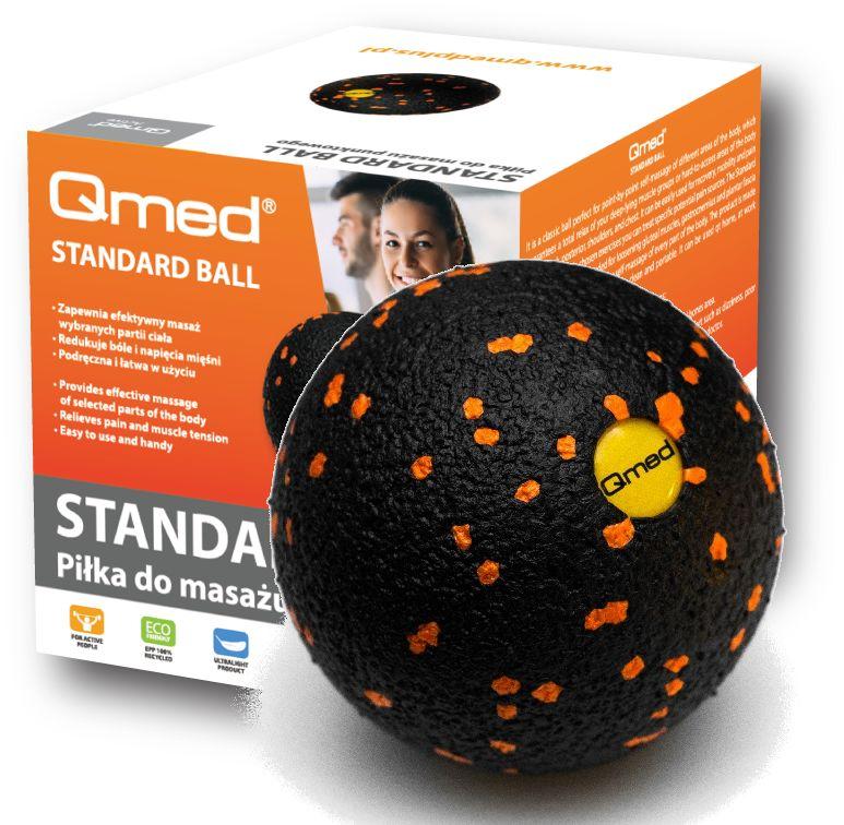 Atestowana piłeczka rehabilitacyjna ROLL do masażu i terapii mięśniowo-powięziowej (QS Ball)