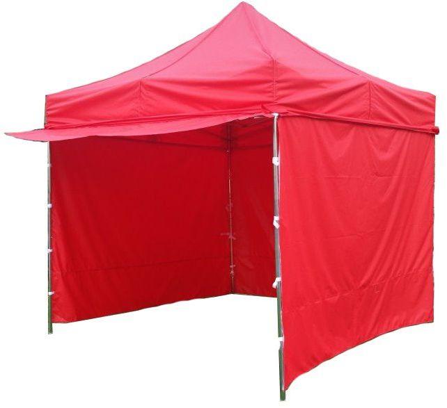 Namiot ogrodowy PROFI STEEL 3 x 3 - czerwony