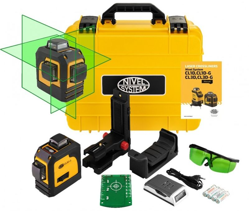 Nivel System CL3D-G Laser krzyżowy 360  wer. 3.0