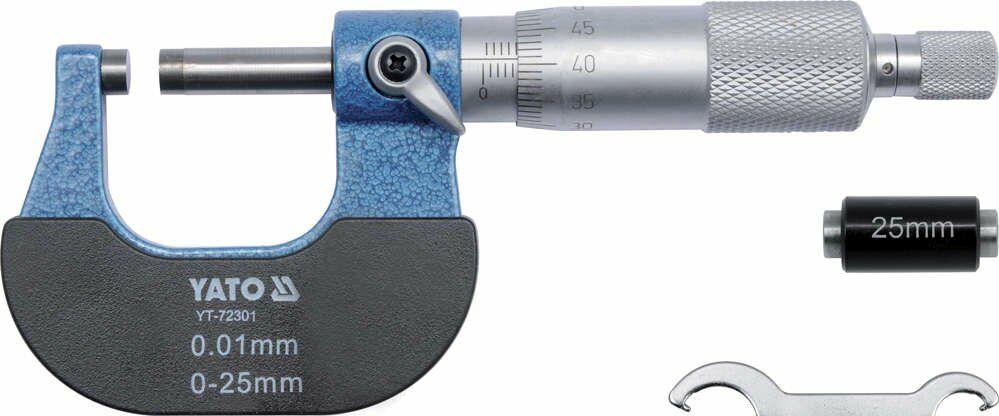 Mikrometr 25-50mm Yato YT-72301 - ZYSKAJ RABAT 30 ZŁ